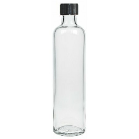 BOTELLA VIDRIO TAPA 500 ML