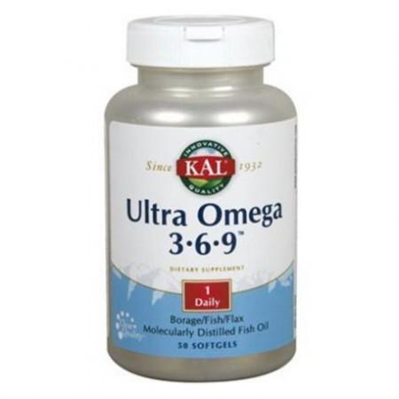 ULTRA OMEGA 3-6-9. 50 capsulas