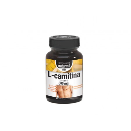 L-CARNITINA 600MG CAPS