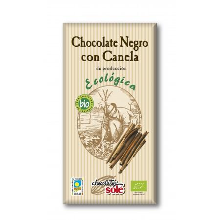 CHOCOLATE NEGRO CANELA 100G