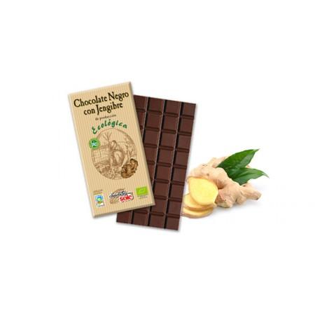 CHOCOLATE NEGRO JENGIBRE 100G