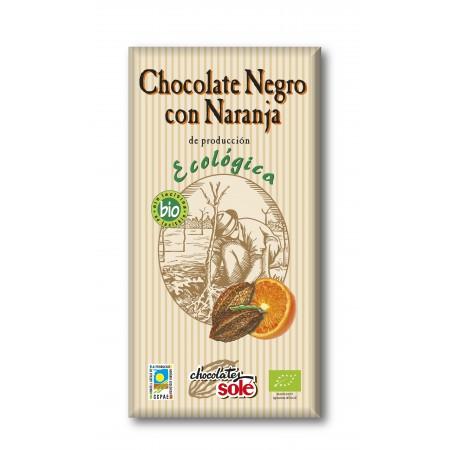 CHOCOLATE NEGRO NARANJA 100G